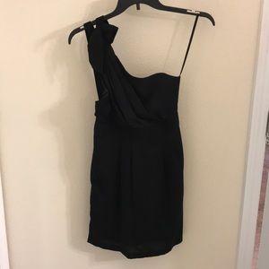 BCBG One shoulder dress